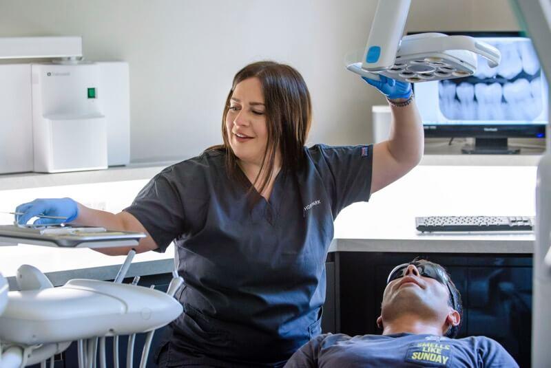 Edinburgh dentist ashley logan