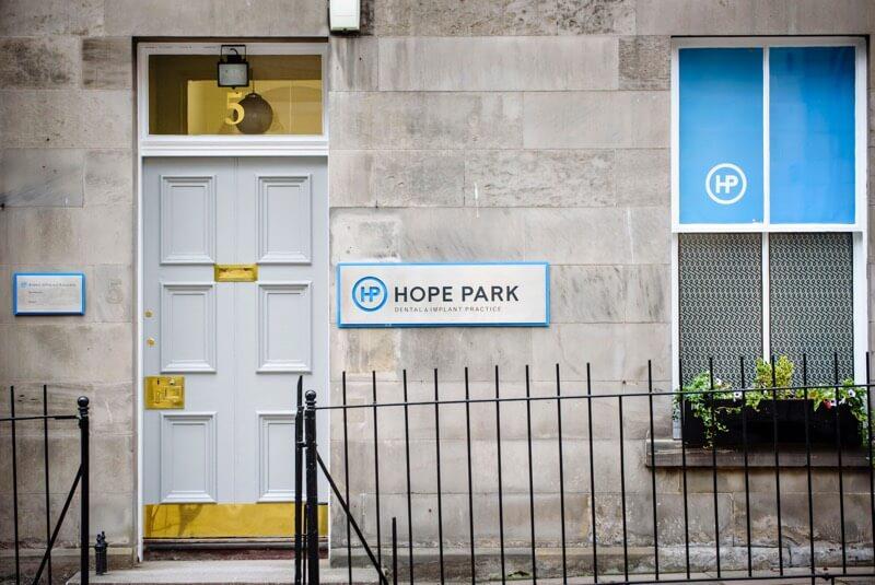 hope park dental outside